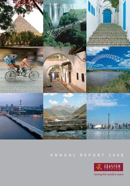 Annual Report 2008 - Orascom Telecom