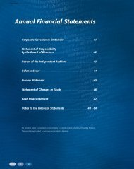 Annual Financial Statements - Research ICT Africa
