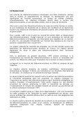 Rapport sur le marché sénégalais des télécommunications en 2004 - Page 3