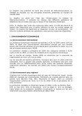 Rapport sur le marché sénégalais des télécommunications en 2004 - Page 4