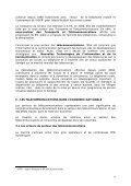 Rapport sur le marché sénégalais des télécommunications en 2004 - Page 6