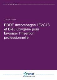 100426_Dossier de presse E2C78_ERDF - Réseau des Ecoles de ...