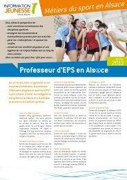 le professeur d'EPS - Réseau Information Jeunesse d'Alsace