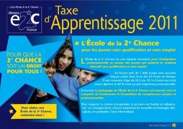 Les dispositions pour votre Taxe d'Apprentissage 2011