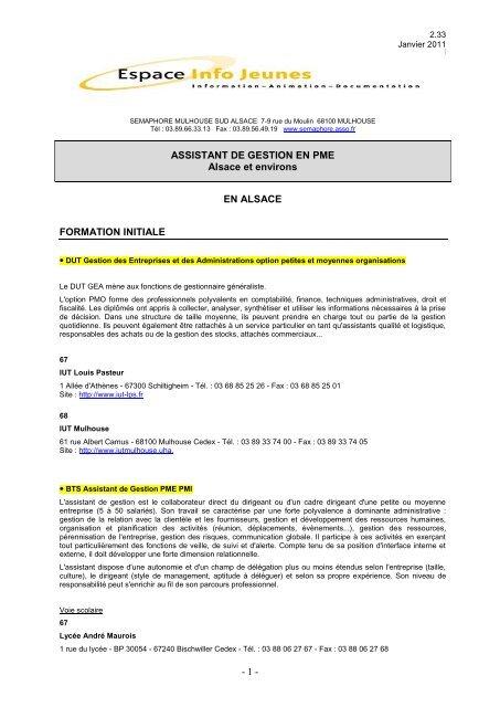Septembre 2007 - Réseau Information Jeunesse d'Alsace