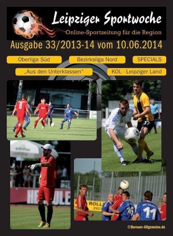 Ausgabe 33/2013-14 vom 10.06.2014