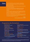 Guide des formations - Réseau Information Jeunesse d'Alsace - Page 2