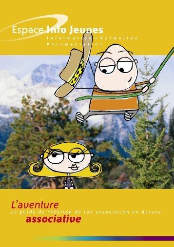 L'aventure associative - Réseau Information Jeunesse d'Alsace