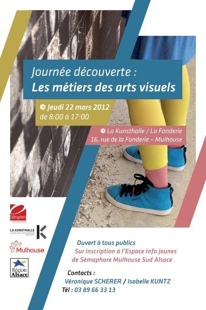 Les métiers des arts visuels - Réseau Information Jeunesse d'Alsace