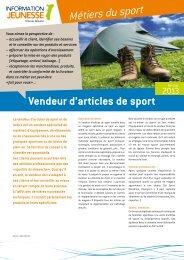 Métiers du sport - Réseau Information Jeunesse d'Alsace