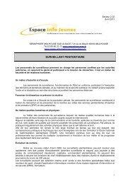 Surveillant Penitentiaire en Alsace.pdf - Réseau Information ...