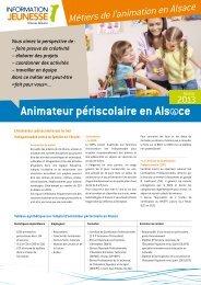 Animateur periscolaire en Alsace.pdf - Réseau Information ...