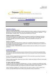 Secteur 2 - Réseau Information Jeunesse d'Alsace