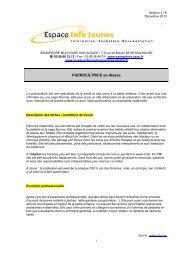 CLUBS DE DANSE - Réseau Information Jeunesse d'Alsace