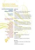 Guide des formations - Réseau Information Jeunesse d'Alsace - Page 4