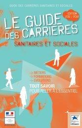 guide des Carrières Sanitaires et Sociales - Réseau Information ...