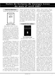 avril 2007 - reseau-regain.net