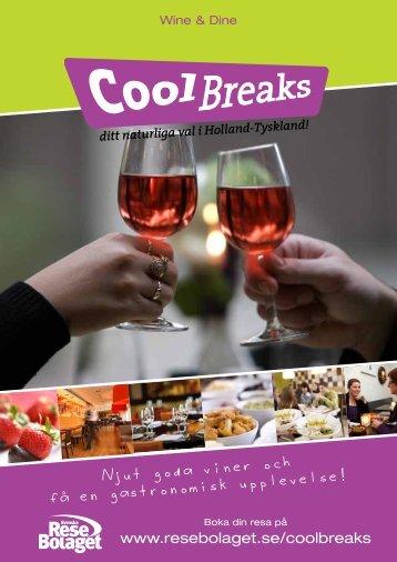 Njut goda viner och fa en gastronomisk upplevelse!