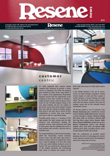 Resene Newsletter issue 2 2011