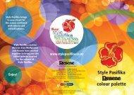 Resene Style Pasifika Colour Palette