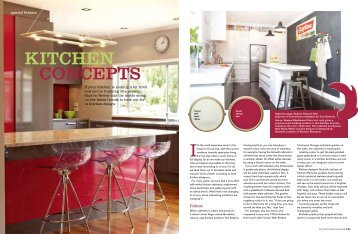 The latest trends in kitchen design - Resene