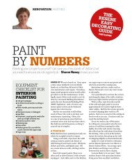 Painting your rental property - Resene