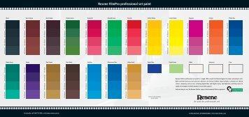 Resene FilmPro professional set paint