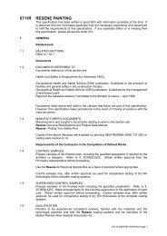 Resene Paints Masterspec Standard Specification