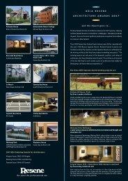 NZIA Resene Architecture Awards 2007