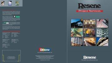 Resene Paint's Project Services
