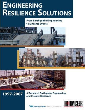 Brochure - MCEER - University at Buffalo
