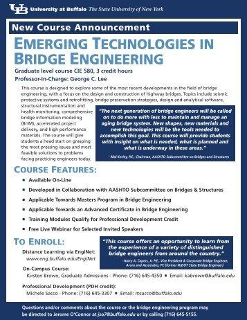 emerging technologies in bridge engineering - MCEER - University ...