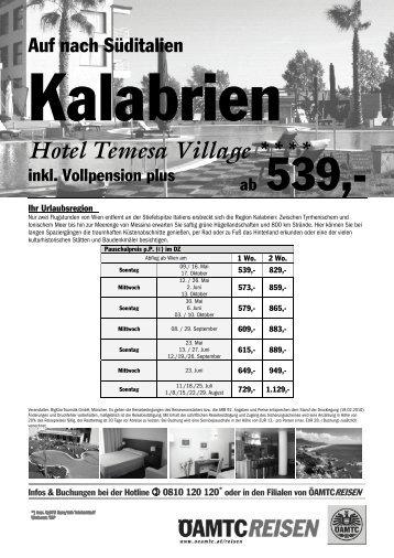 Hotel Temesa Village - Familienpass