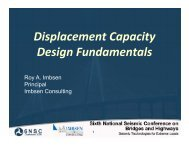 Displacement Capacity Design Fundamentals - MCEER