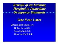 Hospital Rehabilitation: Steel Plate Shear Walls - MCEER