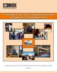 Proceedings of the 2001 Earthquake Engineering Symposium for ...