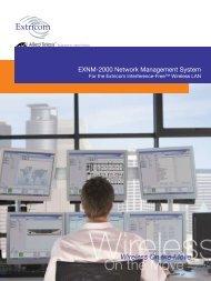 EXNM-2000 Network Management System Datasheet - Allied Telesis