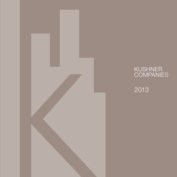 Brochure PDF - Kushner Companies