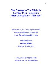 The Change In The Clinic In Lumbar Disc Herniation After ...