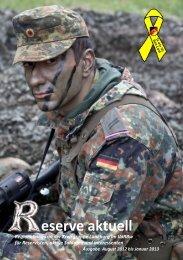 Reserve aktuell 2012/2 - Verband der Reservisten der Deutschen ...