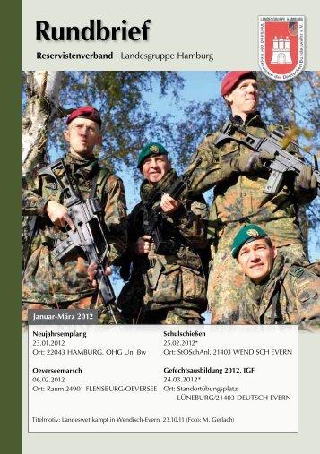 Rundbrief 1. Quartal 2012 - Verband der Reservisten der Deutschen ...