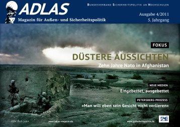 DÜSTERE AUSSICHTEN - Adlas - Magazin für Sicherheitspolitik