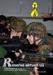 Reserve aktuell 2013/1 - Verband der Reservisten der Deutschen ...