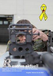 Reserve aktuell 2012/1 - Verband der Reservisten der Deutschen ...