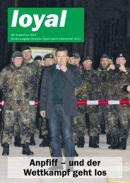 Anpfiff – und der Wettkampf geht los - Verband der Reservisten der ...