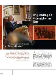 Originalklang mit österreichischer Note - resia artists