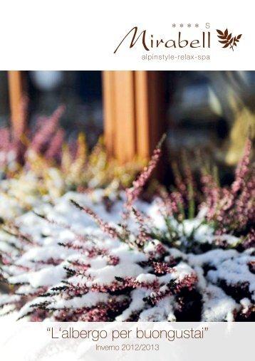 Scarica il catalogo - Alpenresidence Hotel Mirabell