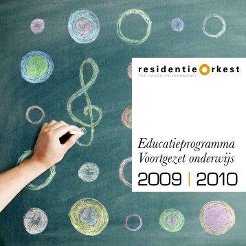 2009 | 2010 - Residentie Orkest
