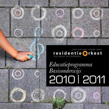 2010 | 2011 - Residentie Orkest