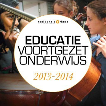 Download hier de brochure in pdf - Residentie Orkest